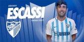 Escassi, Barrio y Calero se ejercitan ya con el Málaga