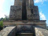 El monumento al Sagrado Corazón de Jesús, abandonado