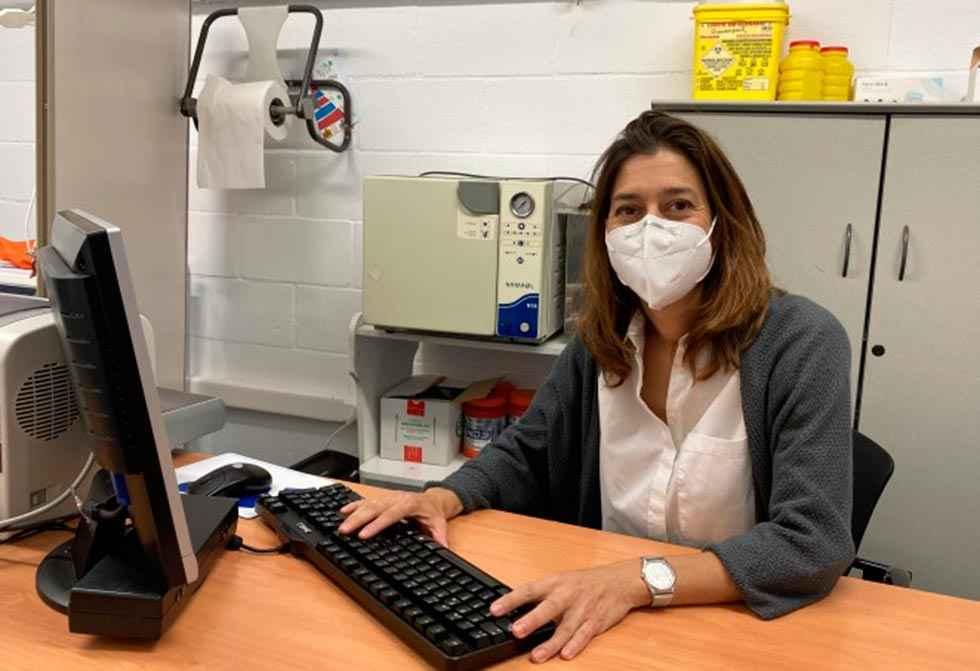 María Ramos, responsable de servicios médicos