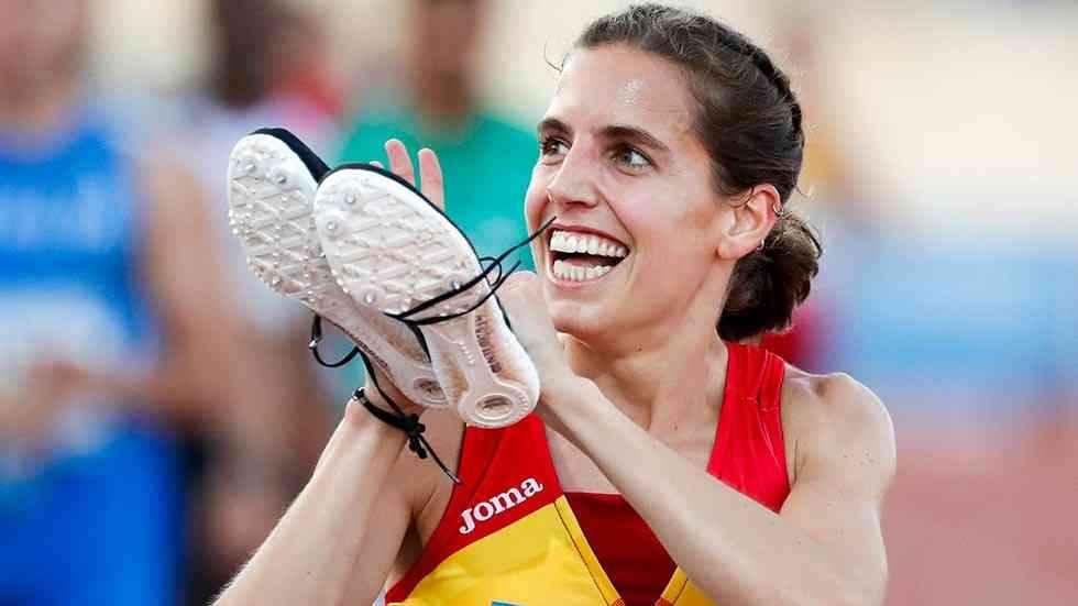 Marta Pérez, campeona nacional de 5.000 metros