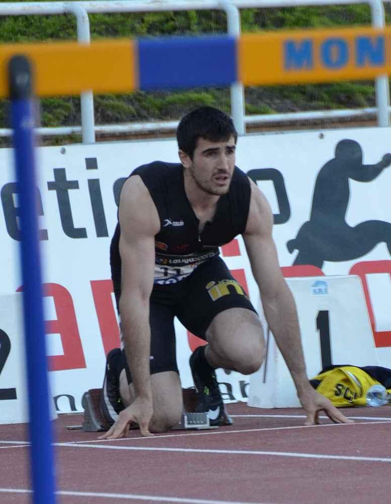 Mario Arancón, plata nacional en decatlón