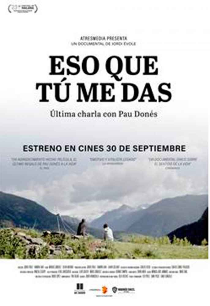 El documental de Pau Donés, en Cines Lara
