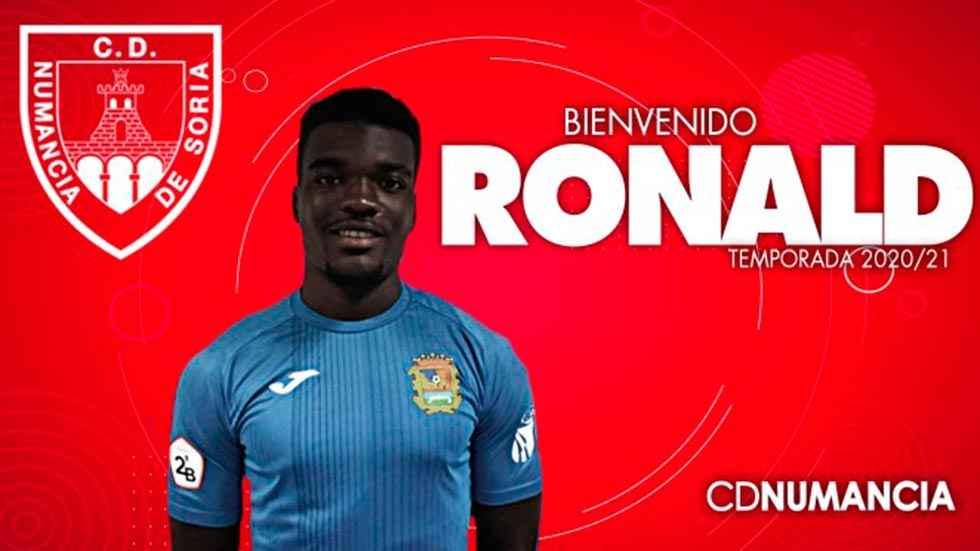 El Huesca cede a Ronald al Numancia