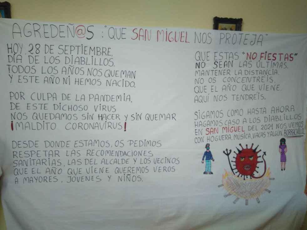 Ágreda pide la protección de San Miguel