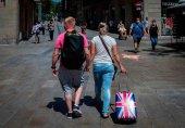 España recibe un 75 por ciento menos de turistas