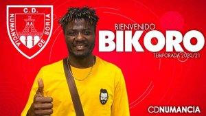 Bikoro, nuevo mediocentro para el Numancia