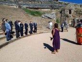 El teatro romano de Clunia mejora su funcionalidad