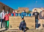 Amatex dona dos composteras a Sarnago