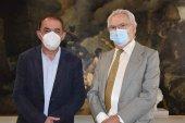Diputación firma primer convenio con la Fundación Vicente Marín