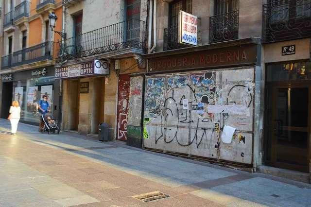 Soria: la milla de la desolación comercial - fotos