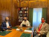 La Diputación conoce el nuevo proyecto del Numancia