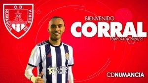 Roberto Corral, nuevo lateral izquierdo para el Numancia