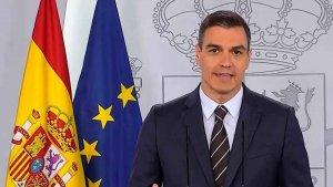 """Sánchez: """"No contemplo un confinamiento del país"""""""