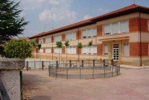 Un aula del CEIP Ruiz Zorrilla, en cuarentena