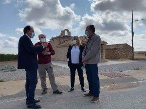 Diputación finaliza mejora de carretera de Deza