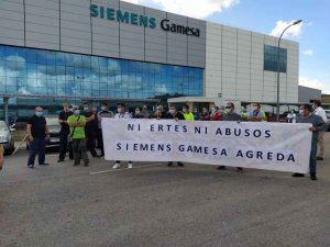 Valoración de sindicatos a ERTE en Siemens Gamesa