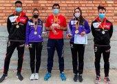 Botín de medallas del Numantino y Celtíberas