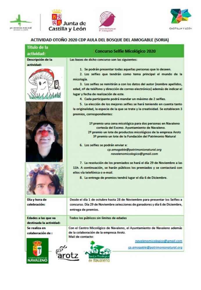 Nueva edición del concurso de selfies micológicos