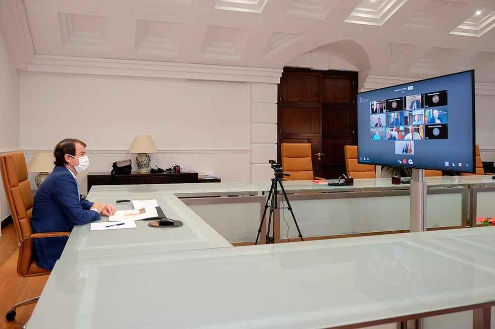 Mañueco pide extremar cumplimiento de medidas