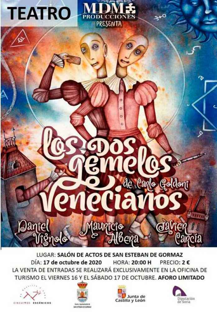"""""""Los dos gemelos venecianos"""", en San Esteban"""