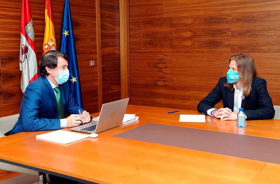 Mañueco pide unidad en reto demográfico en Europa