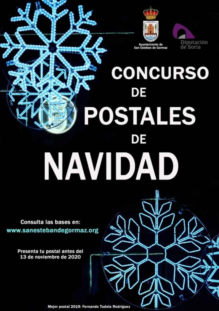 Concurso de postales navideñas en San Esteban de Gormaz