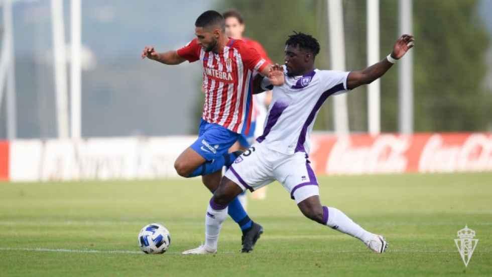 El Numancia pierde frente al filial del Sporting