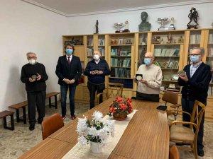 Soria despide a los padres franciscanos