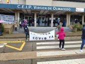 Las movilizaciones por jornada continua siguen en Ólvega