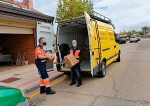 Protección Civil entrega nuevo material