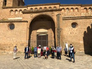 Bienvenida Santamaría, centenaria en Monteagudo