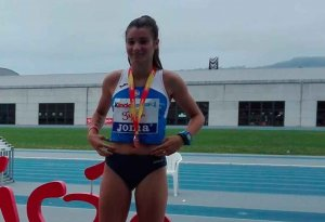 Sara Bogo, campeona de España sub-18