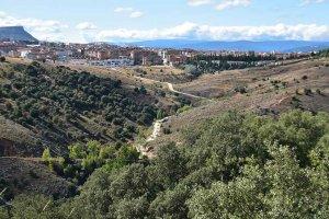 Soria, desde la sierra Santa Ana - fotos