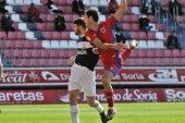 Asier Benito, baja confirmada frente al Sporting B