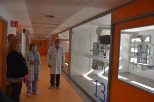 Más UCI para el hospital Santa Bárbara - fotos