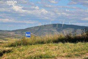 Adelante los parques eólicos de Cúellar de la Sierra