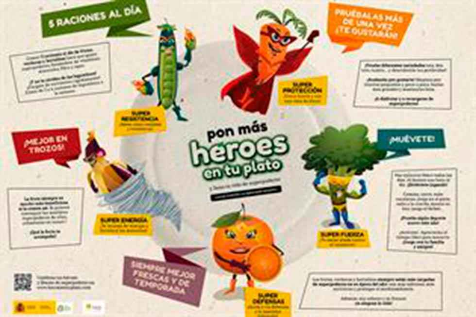 Campaña para luchar contra la obesidad infantil
