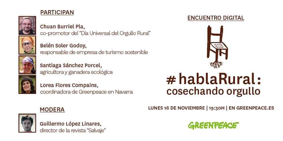 Greenpeace: hablaRural, cosechando orgullo