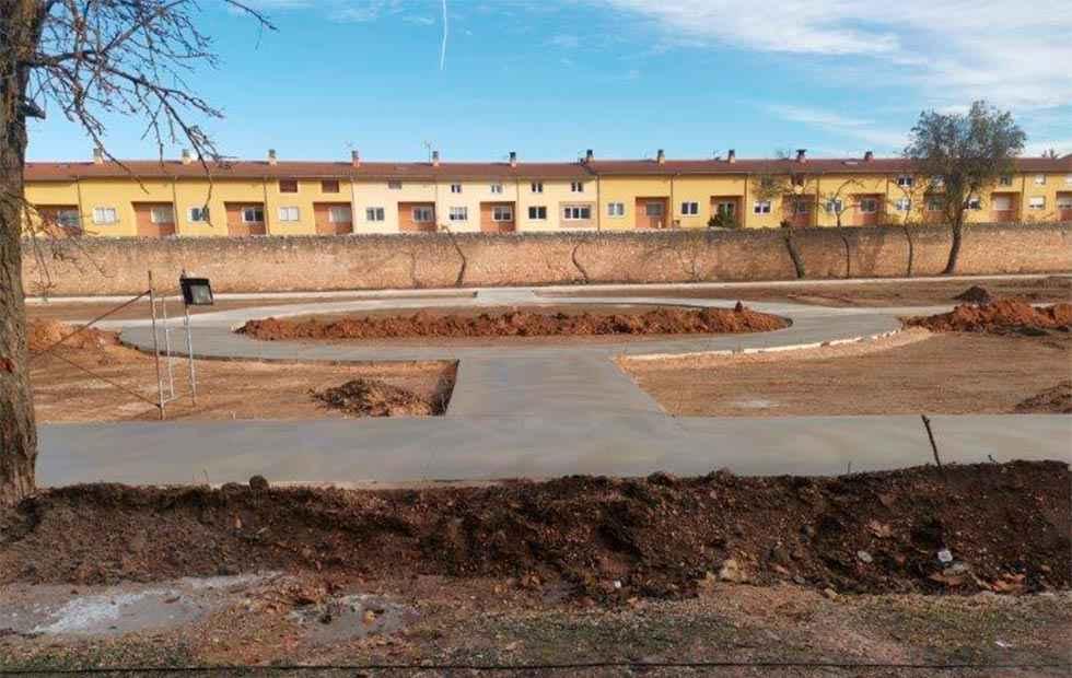 Parque y gimnasio para la residencia San José