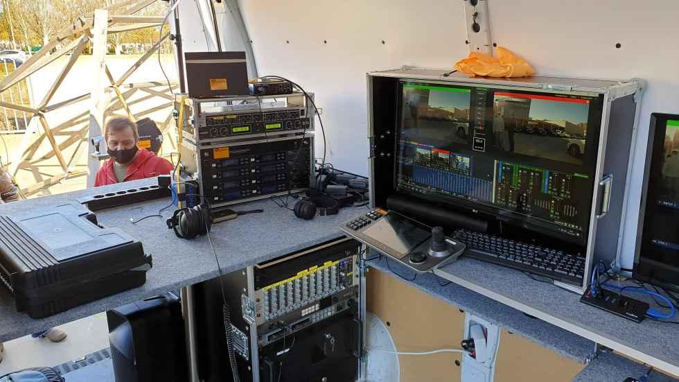 Demostración de televisión por streaming