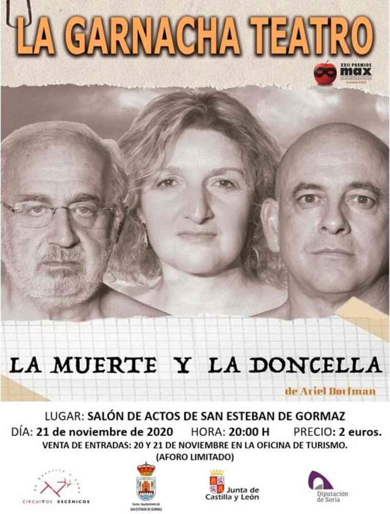"""""""La muerte y la doncella"""", en San Esteban de Gormaz"""