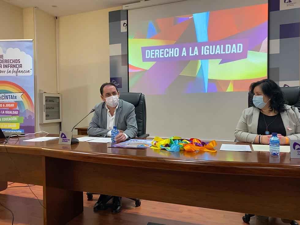 Diputación conmemora el Día de los derechos de la infancia
