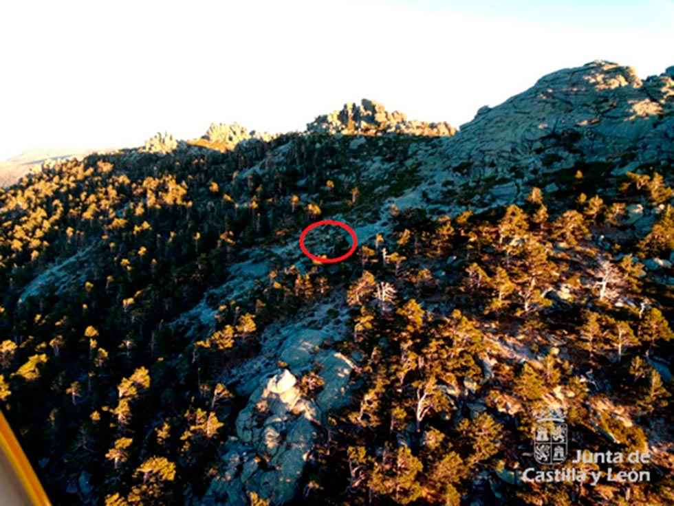 Rescatada montañera herida en sierra de Guadarrama