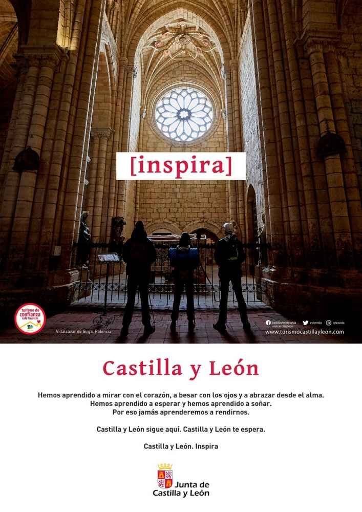 """Segunda campaña de """"Castilla y León. Inspira"""""""