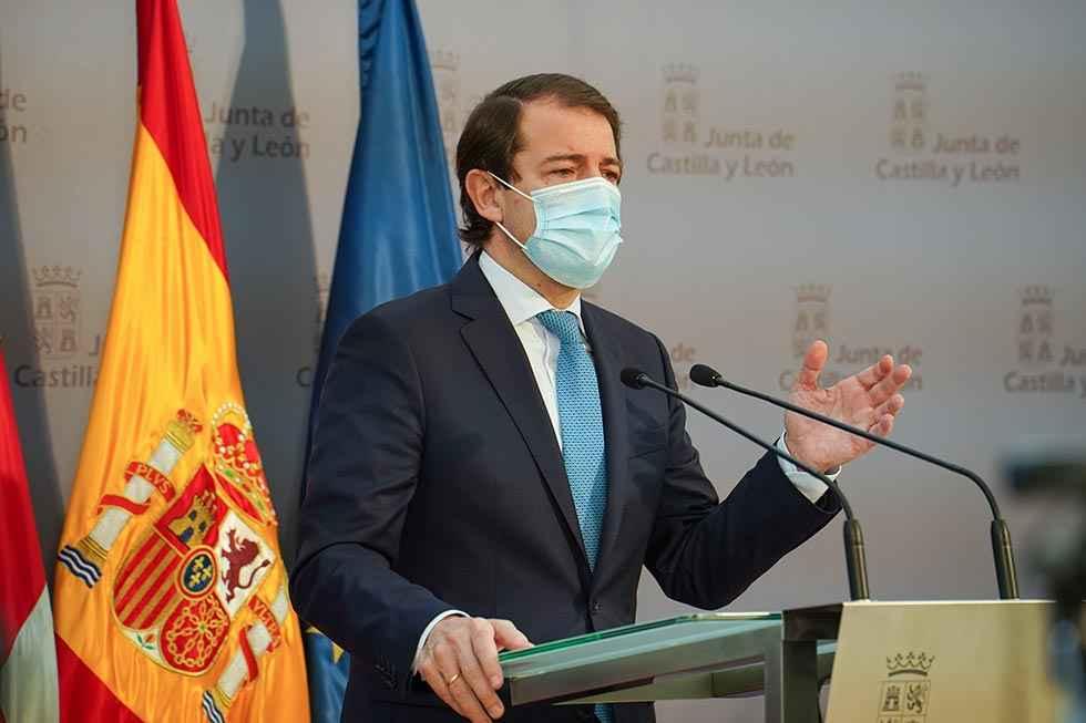 Mañueco solicita explicar la pandemia en las Cortes