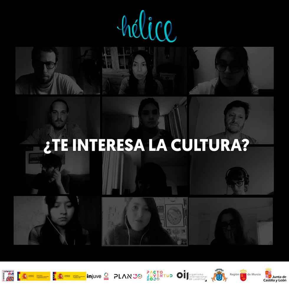 Hélice: emprendimiento cultural para jóvenes