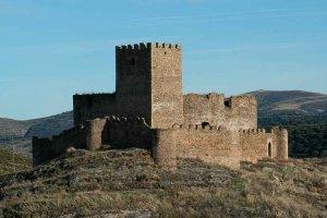 El castillo de Magaña, desde el cielo
