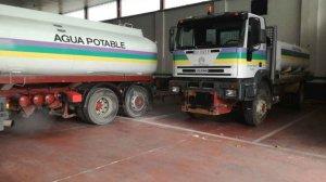 Los camiones cisterna distribuyen 1.158.500 litros de agua