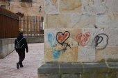 Pintadas, de nuevo, en San Nicolás y La Mayor
