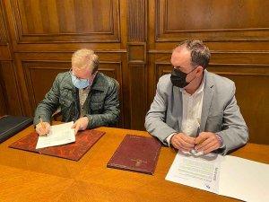 Diputación firma convenios con AECC y ARESO